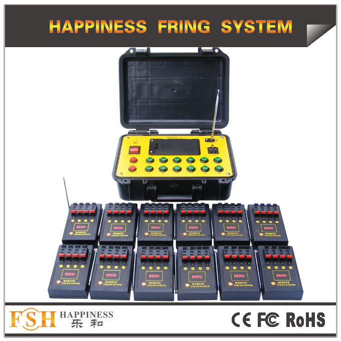 48 cues remote firing system, fireworks firing system hot sale, 1200 cues at most for transmitter ,CE/FCC passed