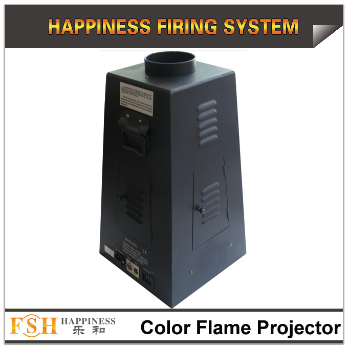 color flame machine, fire machine by 4 different colors, DMX control