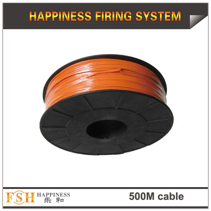 500M wire cable for fireworks display,0.45Mm copper wire,display shooting cable