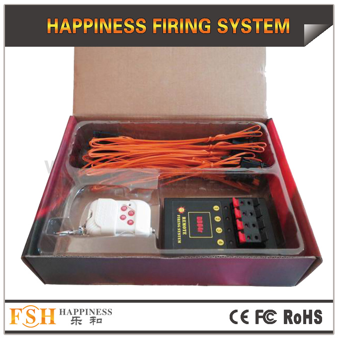 DB04r remote firing system with 20pcs 1M talon igniters for a package, for consumer fireworks display, gift for your fireworks clients