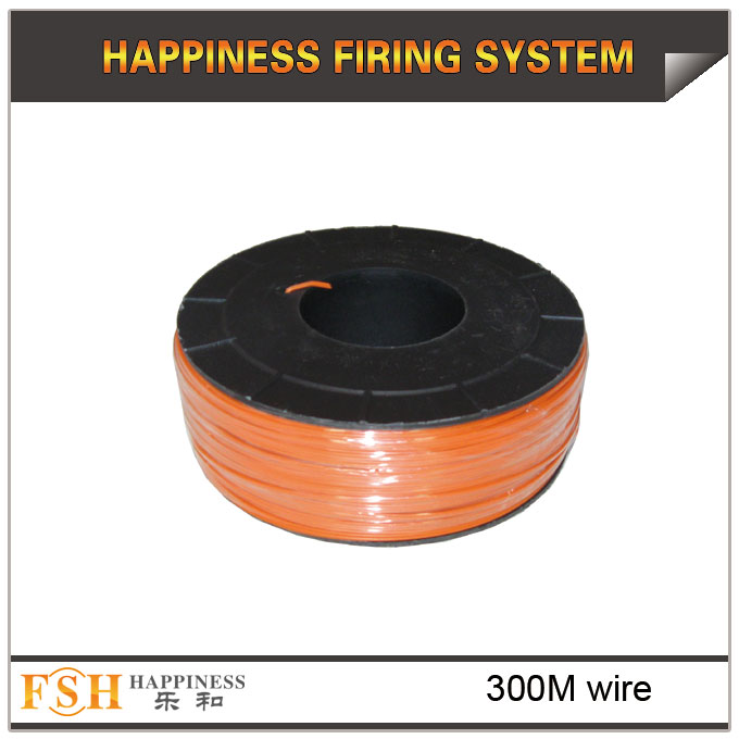 300M wire cable for fireworks display,0.45Mm copper wire,display shooting cable - 副本