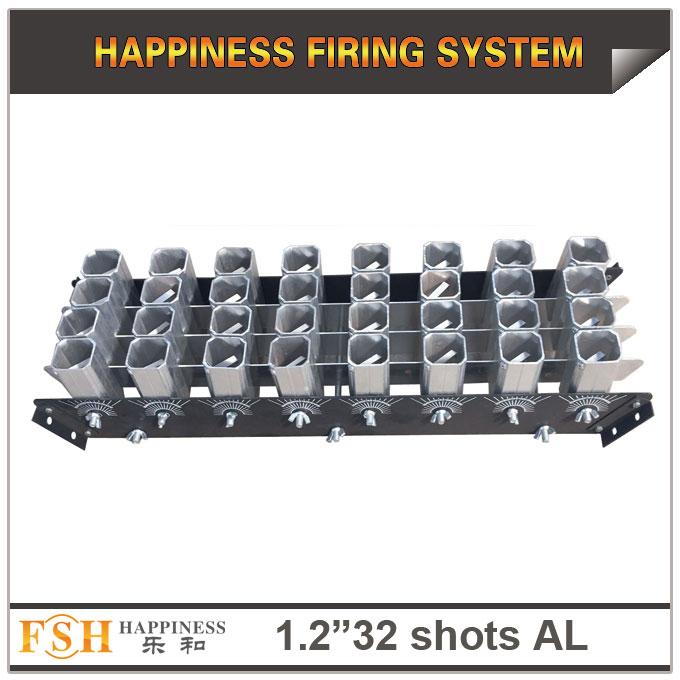 1.2 inch 32 shots  racks, AL display rack for fireworks, special for the roman candles or single shot