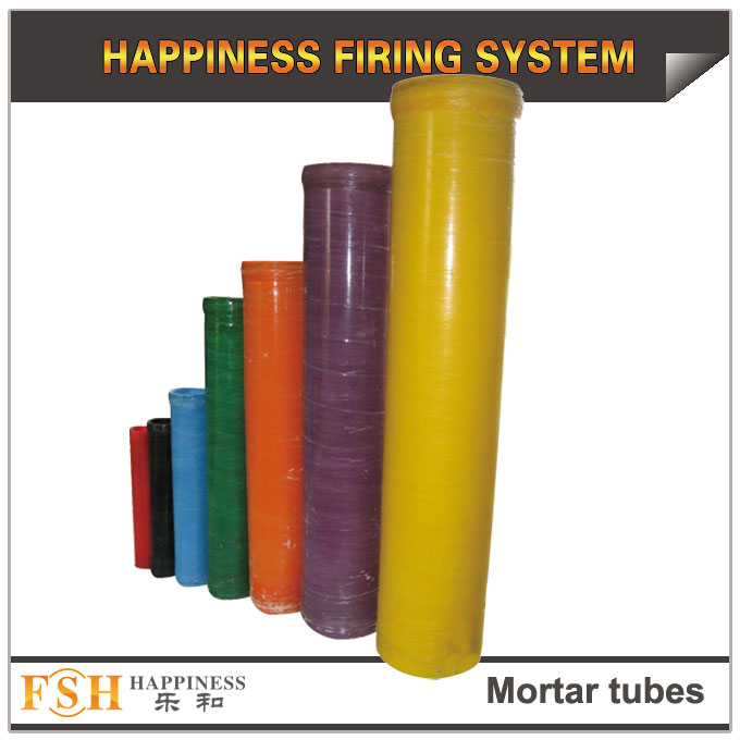 Thicken shells mortar tubes for fireworks, fiberglass mortars 1.75-16 inch upgrades