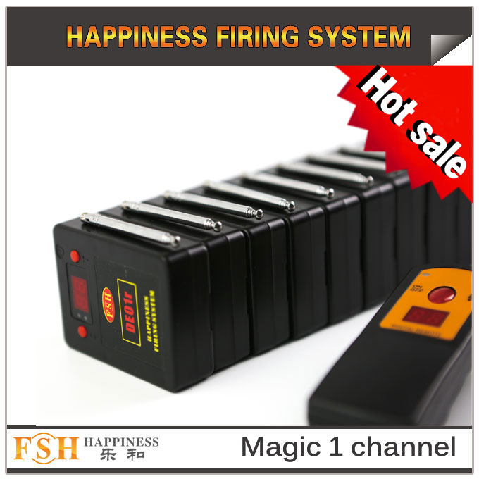 10 cues for sale, 2017 New item magic one channel remote firing system - 副本