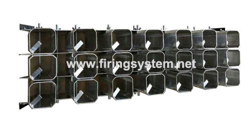 new products 2.5 inch 21 shots Aluminum racks ,fireworks display racks