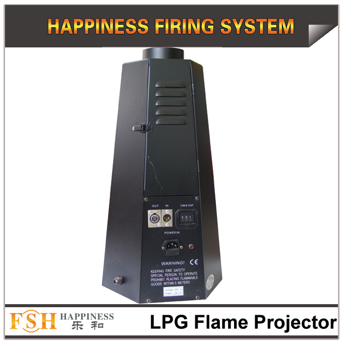 Stage LPG Flame Projector, fire machine, DMX control