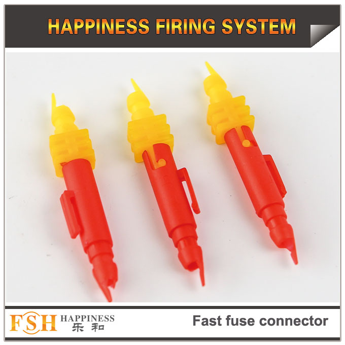 New fast fuse connectors for fireworks display