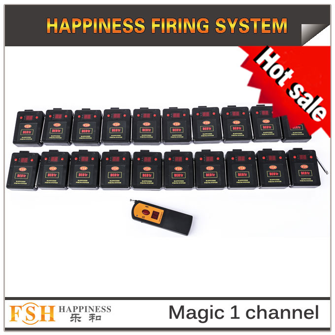 Fireworks firing system, 2019 New item magic one channel remote firing system