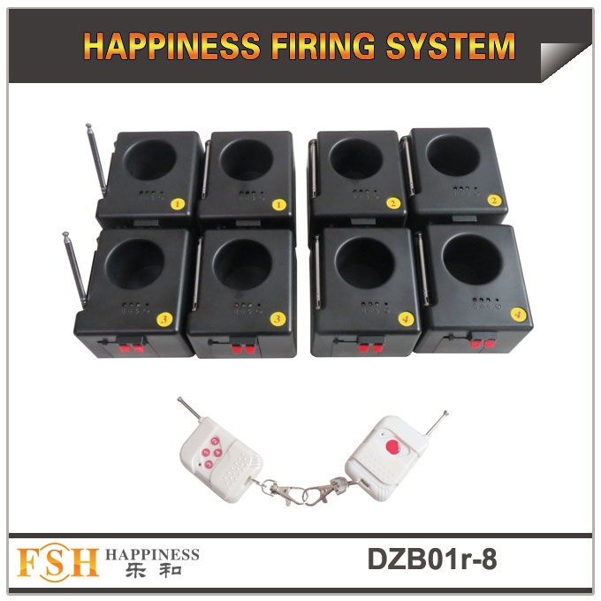 Fireworks firing system stage fountain remote firing system 8 cues, powered by 9V battery
