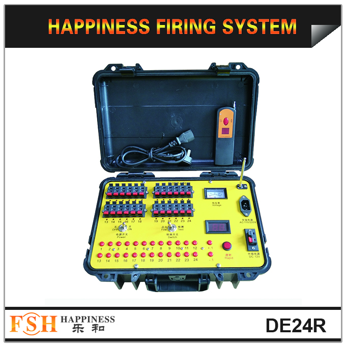 2020 Happiness 24 channels wireless and balloon wired control sequential pyrotechnic firing system