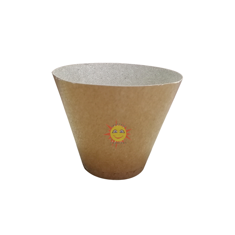 Happiness fireworks paper shell lift cup